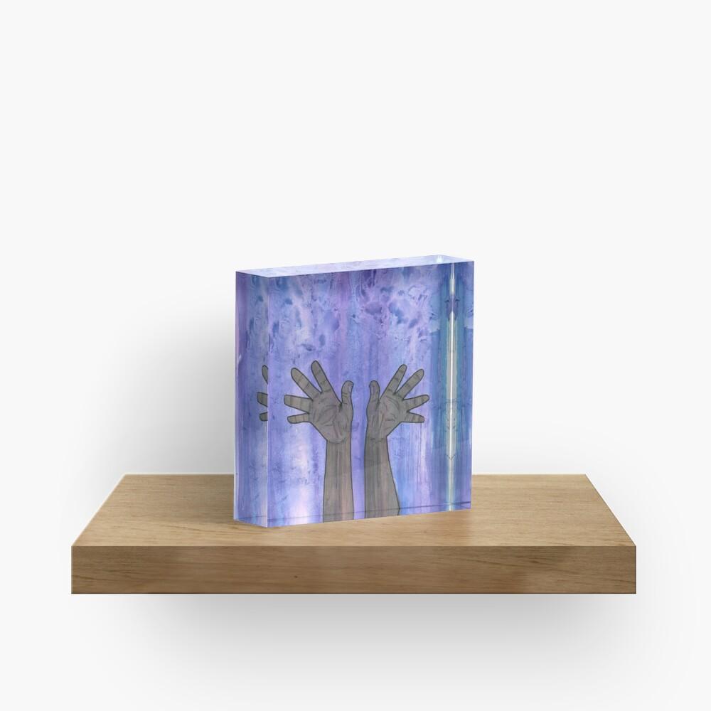 Praise (To Thy Divine) Acrylic Block