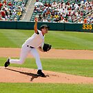 A Determined Pitcher by Buckwhite