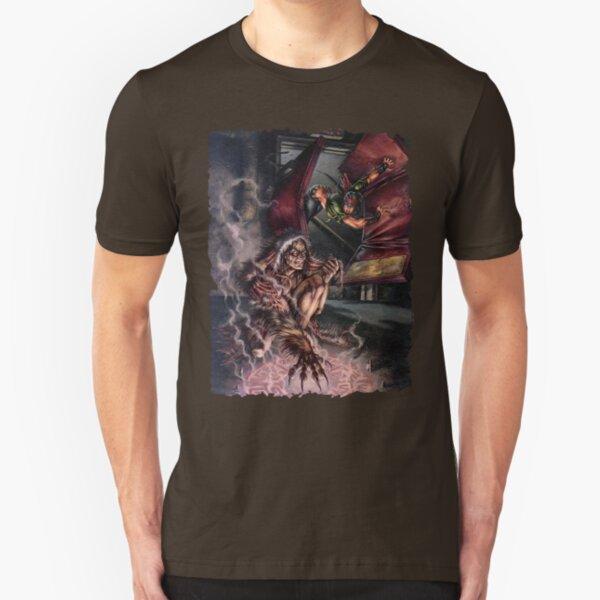 Forsaken Cover Art: World of Darkness: Skinchangers Slim Fit T-Shirt