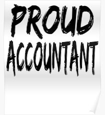 Proud Accountant Poster
