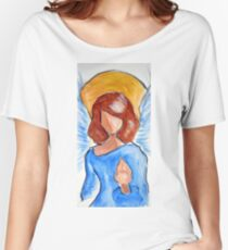 Blessing Angel Women's Relaxed Fit T-Shirt