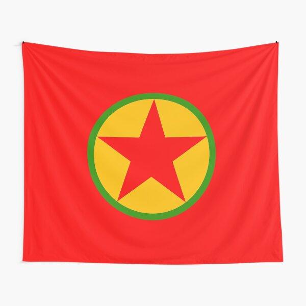 Kurdische Arbeiterpartei Wandbehang
