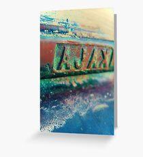 Ajax Mail Slot Xpro Greeting Card