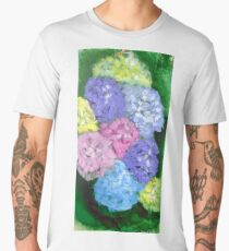 Hydrangeas  Men's Premium T-Shirt