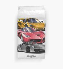 Hypercars Duvet Cover