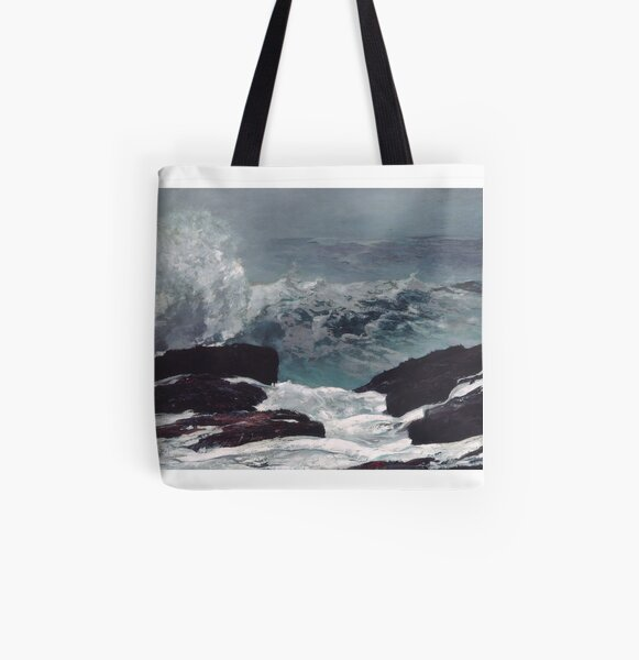 Maine Coast All Over Print Tote Bag