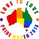 Australia Pride Month 2018 by EthosWear