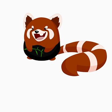 """Toof"" The Red Panda by lemwell"