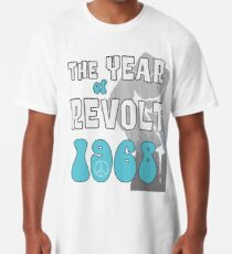 1968 Shirt - The Sixties Year of Revolt - 50th Anniversary Long T-Shirt