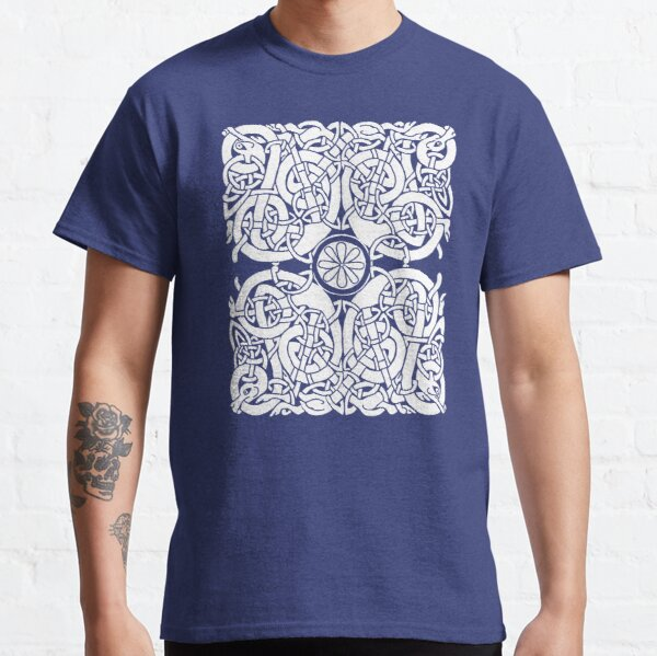 Lindisfarne Hounds in White Classic T-Shirt