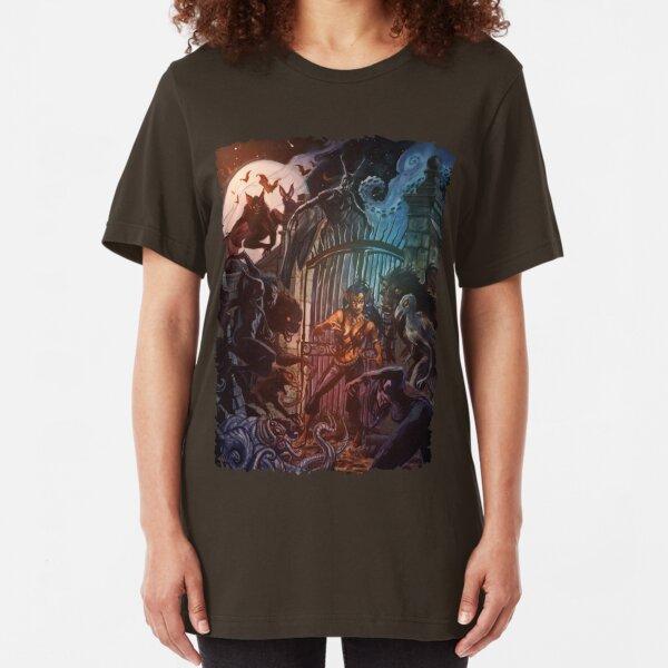 Forsaken Cover Art: Predators Slim Fit T-Shirt