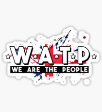 Glasgow Rangers We Are The People WATP Sticker