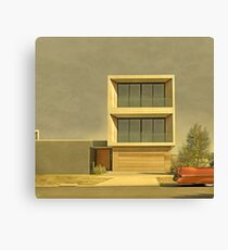 Postmodern Drive By Canvas Print