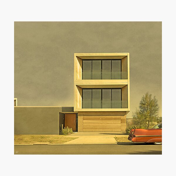Postmodern Drive By Photographic Print