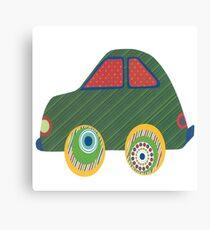Kids Car Canvas Print