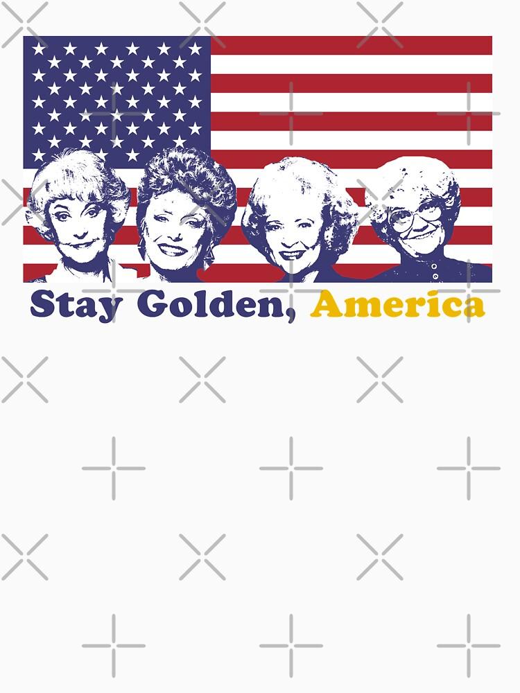 Stay Golden, America by sophiapetrillo