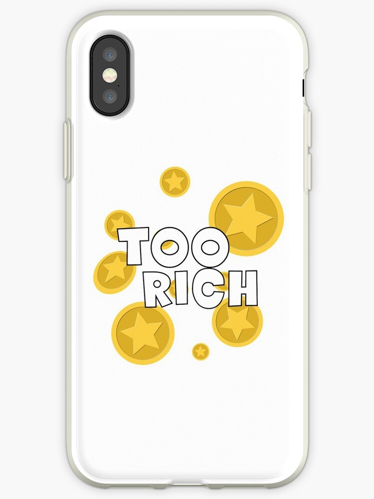 'Too Rich - Animal Crossing' iPhone Case by PrincessCatanna
