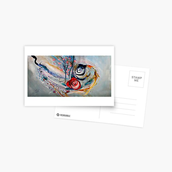 The Rose of Chagall Postcard