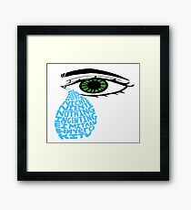 What's Wrong? Framed Print