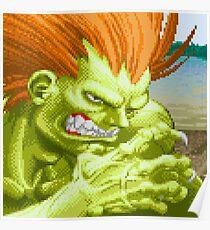 Blanka Street Fighter II Poster