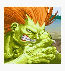 Blanka Street Fighter II Photographic Print