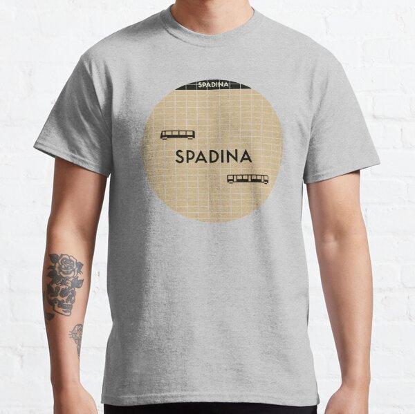 SPADINA Subway Station Classic T-Shirt