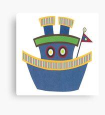Kids Tugboat Canvas Print