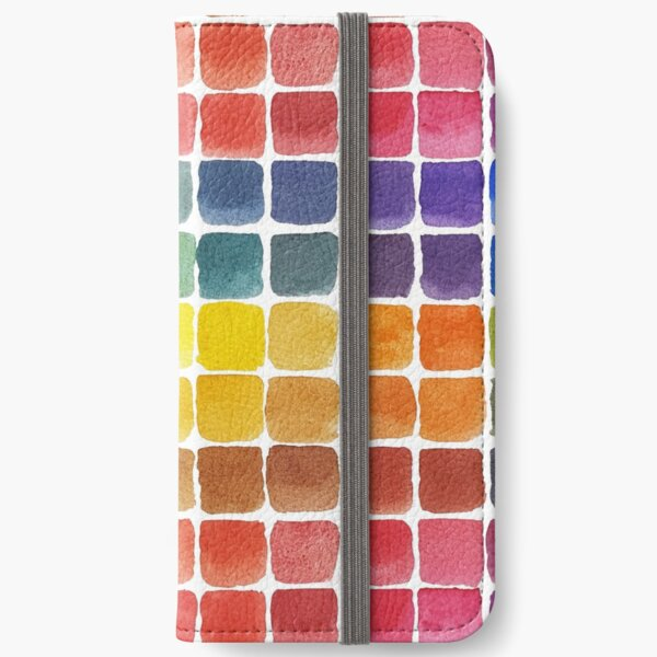Mix it Up! - Watercolor Mixing Chart iPhone Wallet