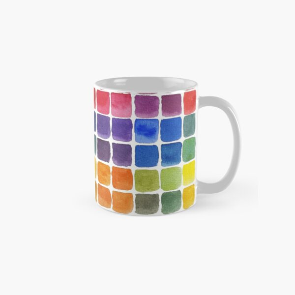 Mix it Up! - Watercolor Mixing Chart Classic Mug