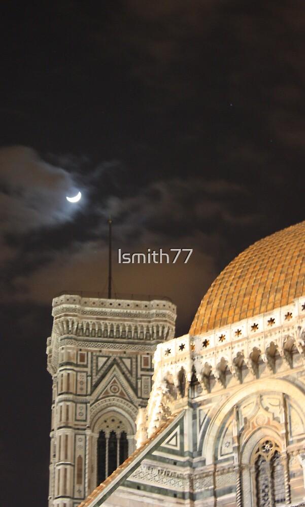 la luna su Basilica di Santa Maria del Fiore by lsmith77