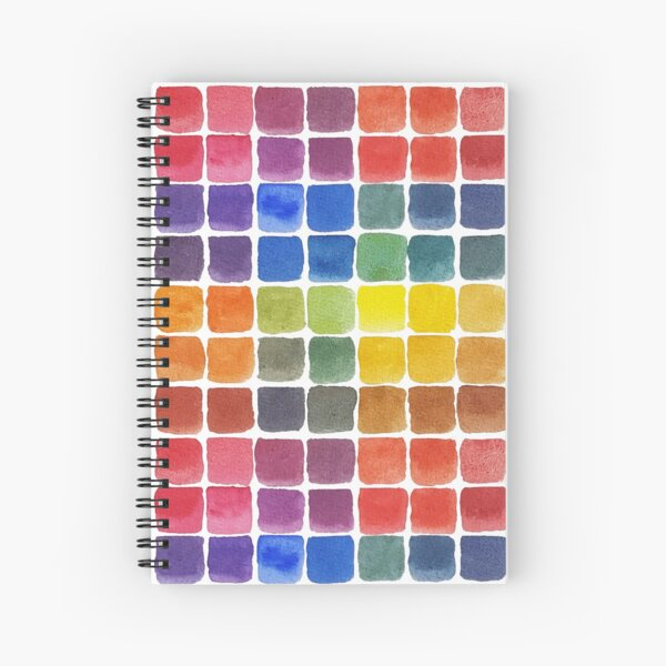 Mix it Up! - Watercolor Mixing Chart Spiral Notebook