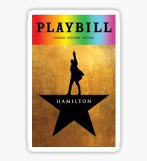 Ham Pridebill Sticker