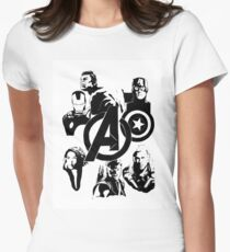 avengers Women's Fitted T-Shirt