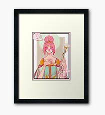 Queen Bubblegum Framed Print