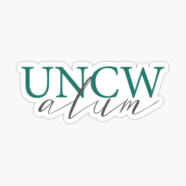 UNCW ALUM Sticker