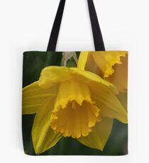 Daffodil Macro Tote Bag