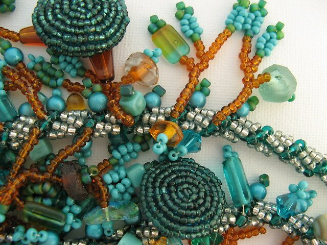 Beaded Larriat by KathyM