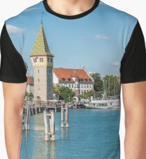 View of Lindau town, Bodensee, Germany Graphic T-Shirt