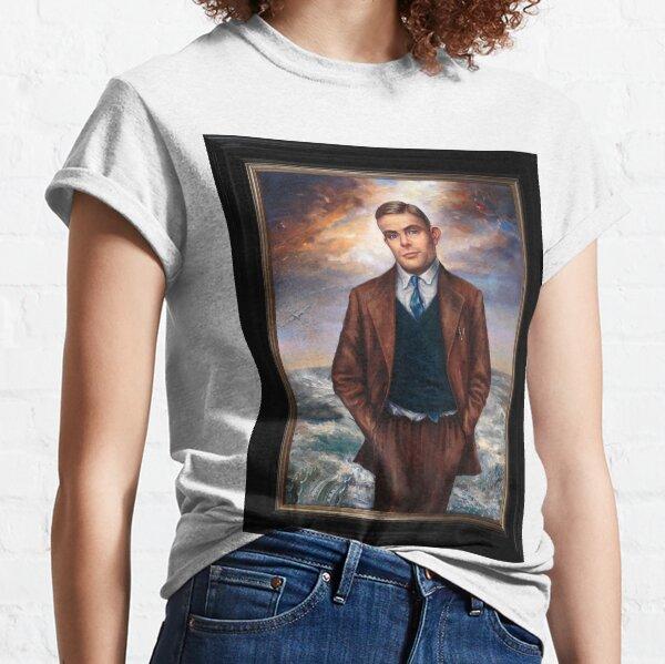 """Alan Turing"" by Maxime Xavier Classic T-Shirt"