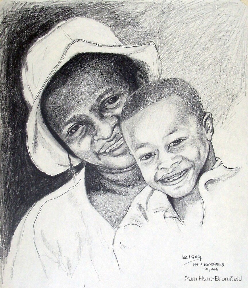 'Mother and Child' by Pam Hunt-Bromfield