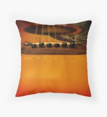 My old 6 string Throw Pillow