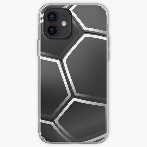 Black Football Ball iPhone Case  / Samsung Galaxy Case iPhone Soft Case