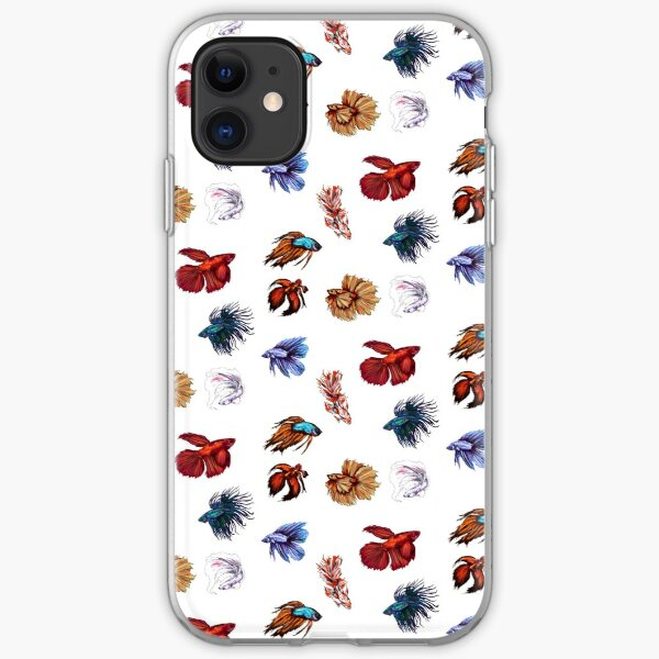 Betta fishes iPhone Soft Case