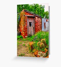 """""""The Garden Shed"""" Greeting Card"""