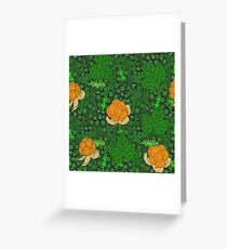 Gold of the north - moss Greeting Card