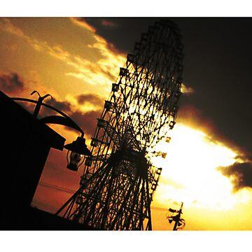 Nagoya Ferris Wheel by quintonsmith
