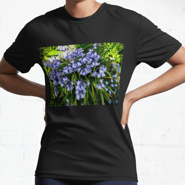 The native bluebell Active T-Shirt