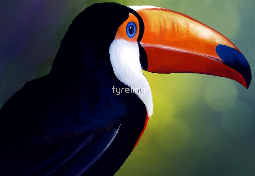 Toucan by fyreling