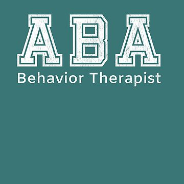ABA Therapist Gifts Behavior Therapist by HappyEdenCo