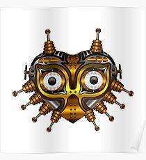Steampunk Mask Poster